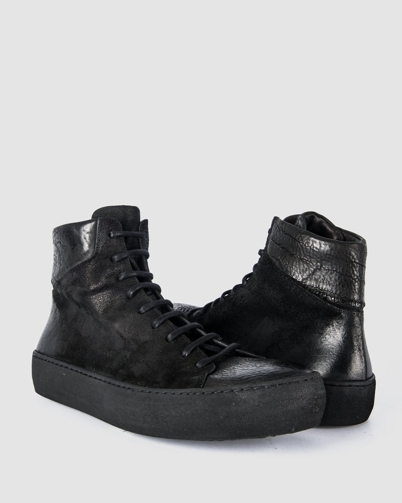 The last conspiracy - Hans waxed suede/reversed leather - https://stilett.com/