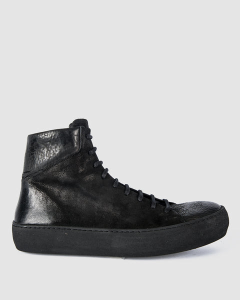 The last conspiracy - Hans waxed suede/reversed leather - Stilett