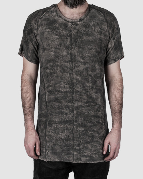 Zam Barrett - Short sleeve coated raglan top - Stilett.com