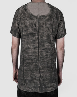 Zam Barrett - Short sleeve coated raglan top - https://stilett.com/