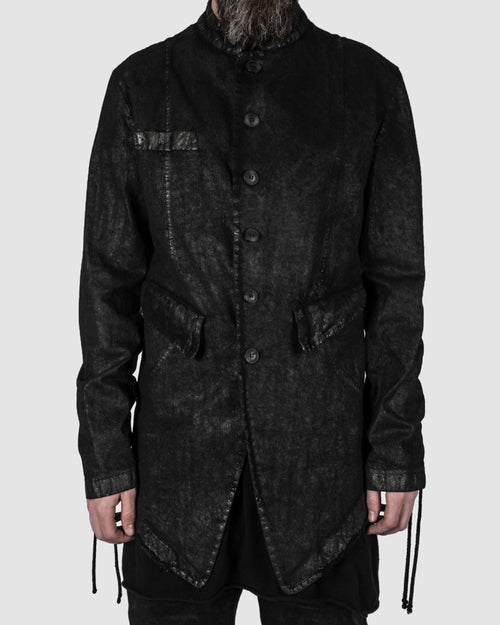 La haine inside us - Coated blazer - Stilett.com