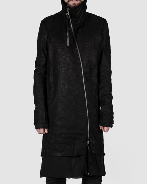 Army of me - Coated highneck coat