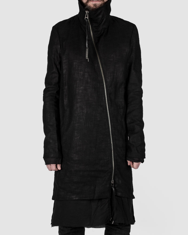 Army of me - Coated highneck coat - https://stilett.com/