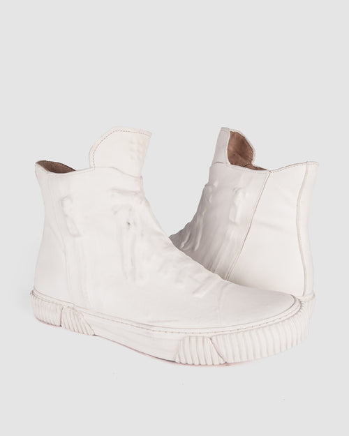 Both Paris - Rubber covered High-top white