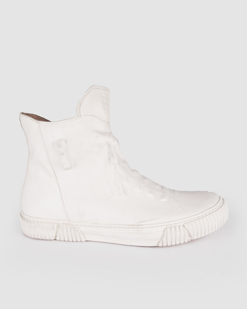 Both Paris - Rubber covered High-top white - Stilett