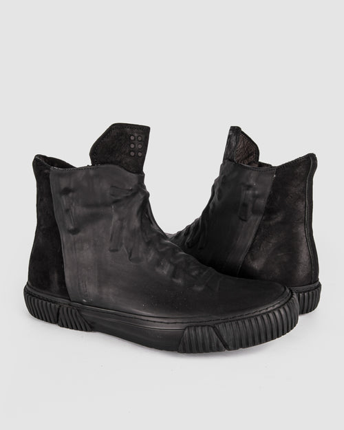 Both Paris - Rubber covered High-top Black
