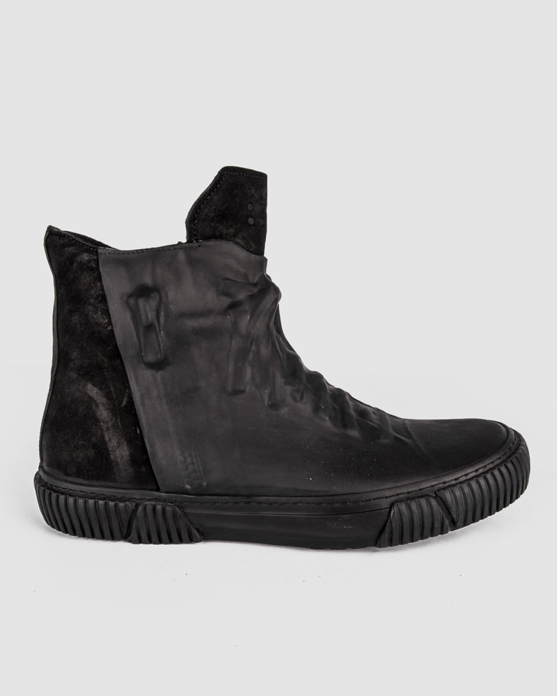 Both Paris - Rubber covered High-top Black - Stilett.com