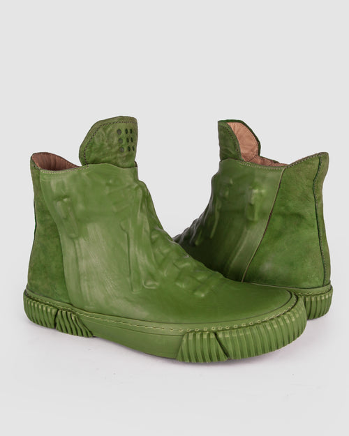 Both Paris - Rubber covered High-top green