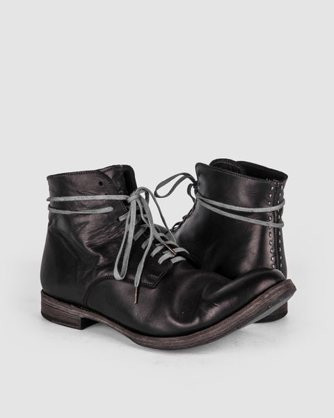 Atelier Aura - AAEB02 Lace up derby - Jet Black - Stilett.com