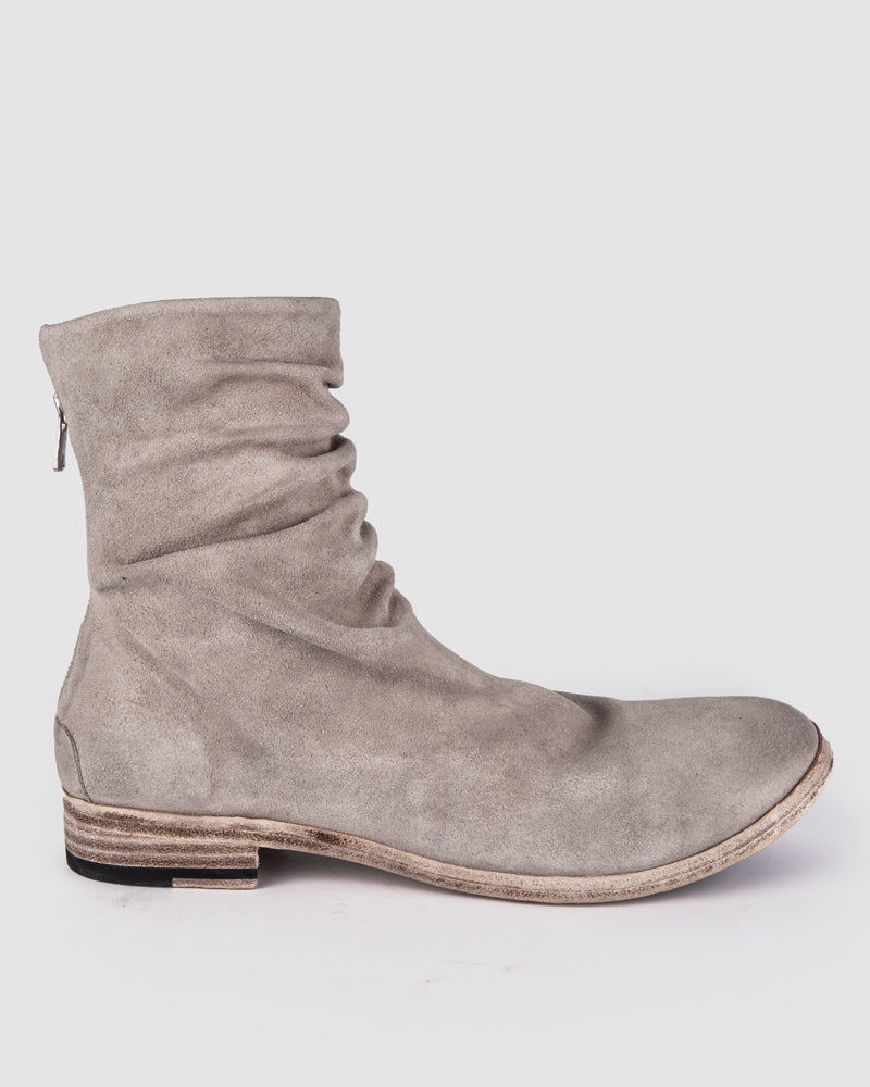 The last conspiracy - Moreno waxed suede - Grey - Stilett.com