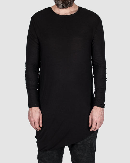 First aid to the injured - Asymmetric long sleeve tee - Stilett.com