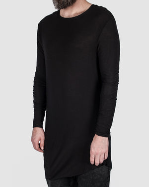 First aid to the injured - Asymmetric long sleeve tee - https://stilett.com/