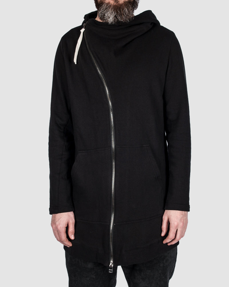 First aid to the injured - Asymmetric zip hoodie - Stilett.com
