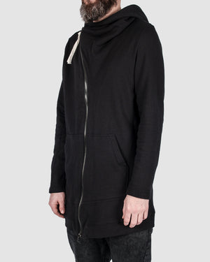 First aid to the injured - Asymmetric zip hoodie - https://stilett.com/