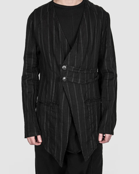 La haine inside us - Striped blazer - Stilett.com