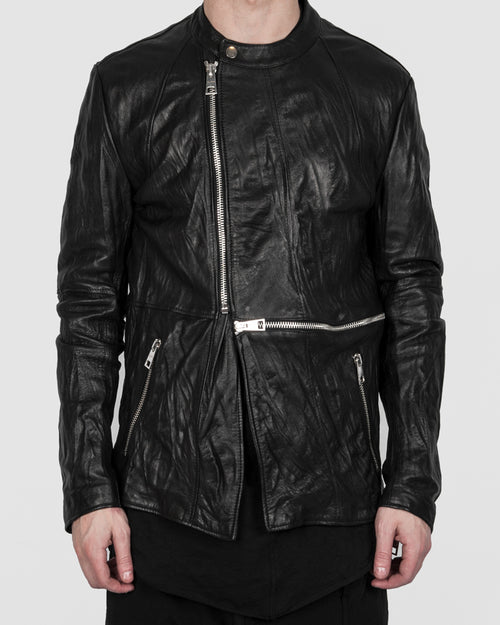 La haine inside us - Zip leather jacket - Stilett.com