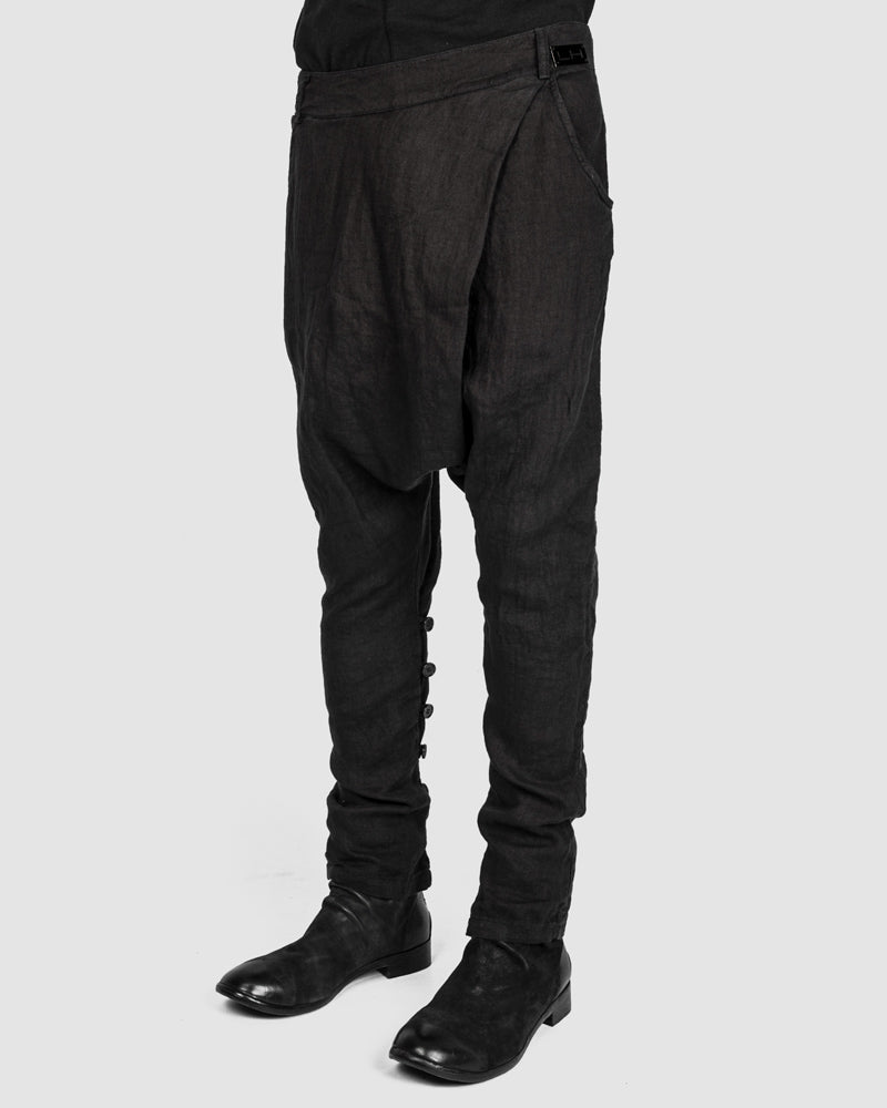 La haine inside us - Back zipped drop pants - Stilett