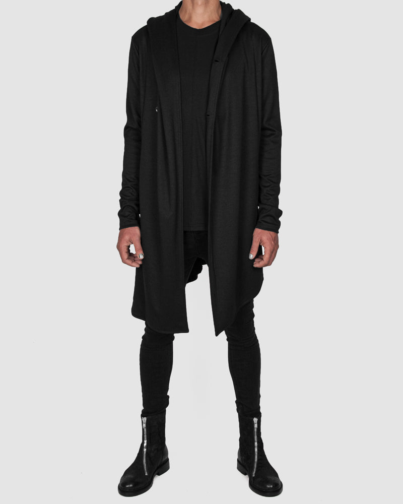 La haine inside us - Asymmetric hooded cardigan - Stilett.com