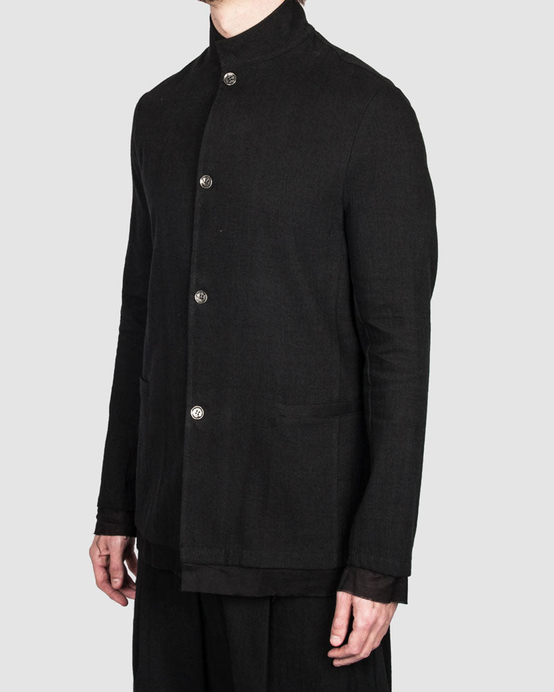 La haine inside us - Buttoned blazer - Stilett.com