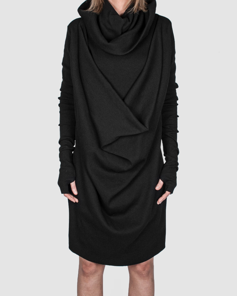 La haine inside us - Frontal draped panelufeff dress (female) - Stilett.com