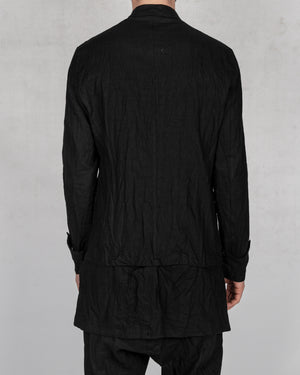 La haine inside us - Korean linen jacket - https://stilett.com/