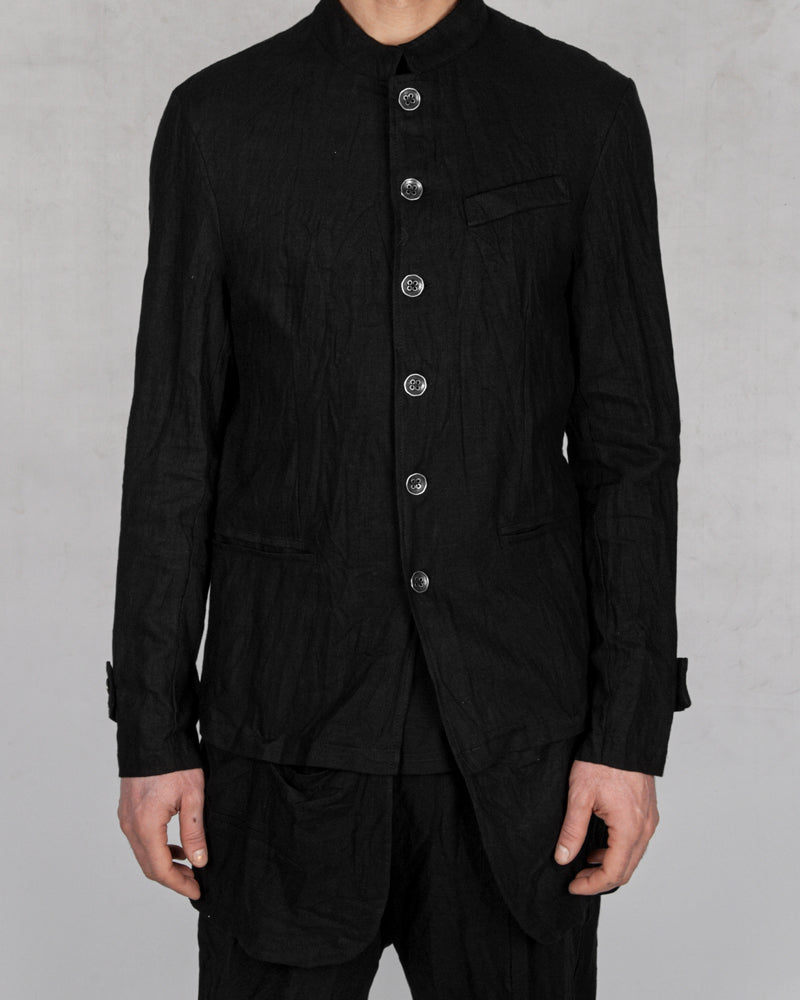 La haine inside us - Korean linen jacket - Stilett.com