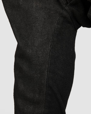 La haine inside us - Laminated low crotch pocket trousers - https://stilett.com/