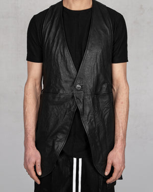 La haine inside us - Leather vest - https://stilett.com/