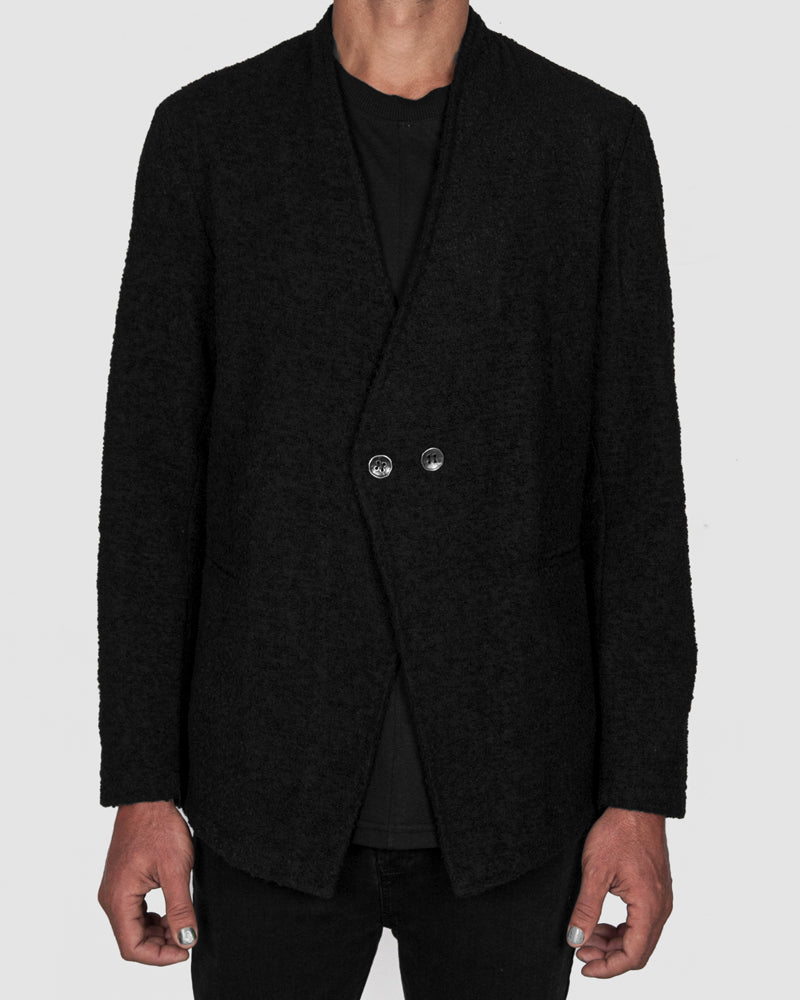 La haine inside us - Two buttoned unlined jacket - https://stilett.com/