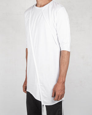 La haine inside us - Crew neck jersey tshirt white - https://stilett.com/
