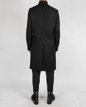La haine inside us - Long korean neck wool coat - https://stilett.com/