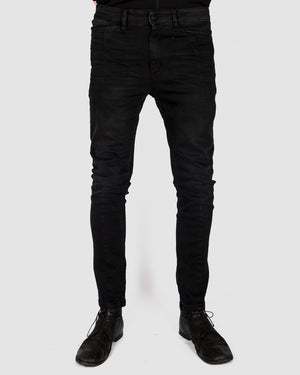 Leon Louis - Dart cut jeans black(er) - https://stilett.com/