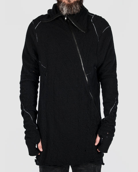 Leon Louis - High collar zip sweater - Stilett.com