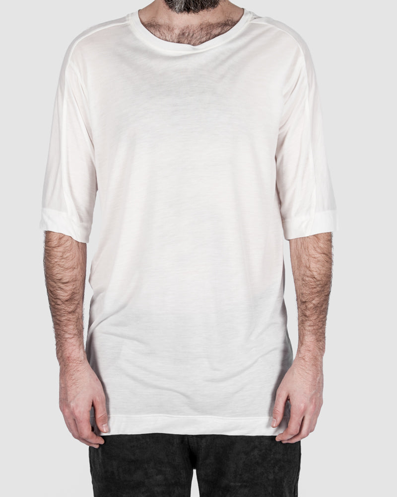 Leon Louis - Ovbo line tee white - https://stilett.com/