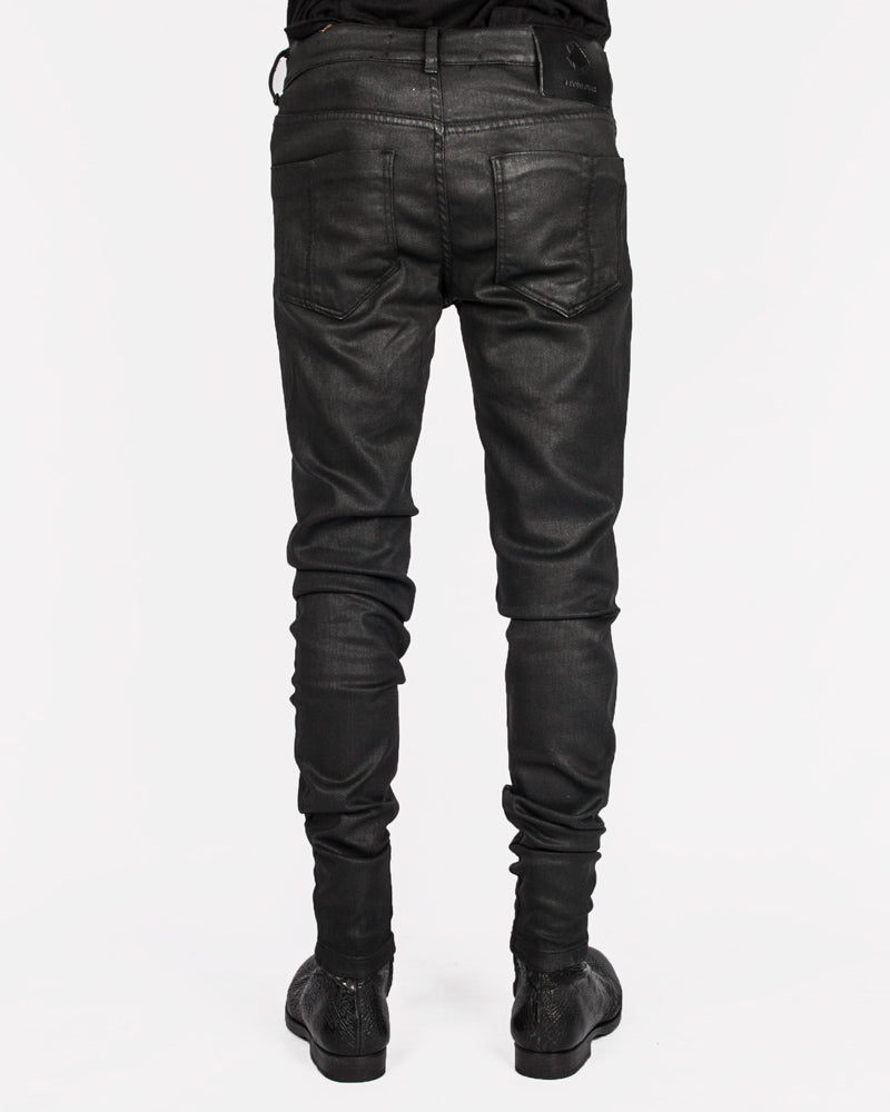 Leon Louis - Skinny coated jeans - Stilett.com