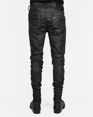 Leon Louis - Skinny coated jeans - https://stilett.com/