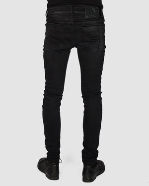 Leon Louis - Skinny jeans black - https://stilett.com/
