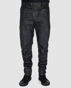 Leon Louis - Waxed bloom jeans - https://stilett.com/