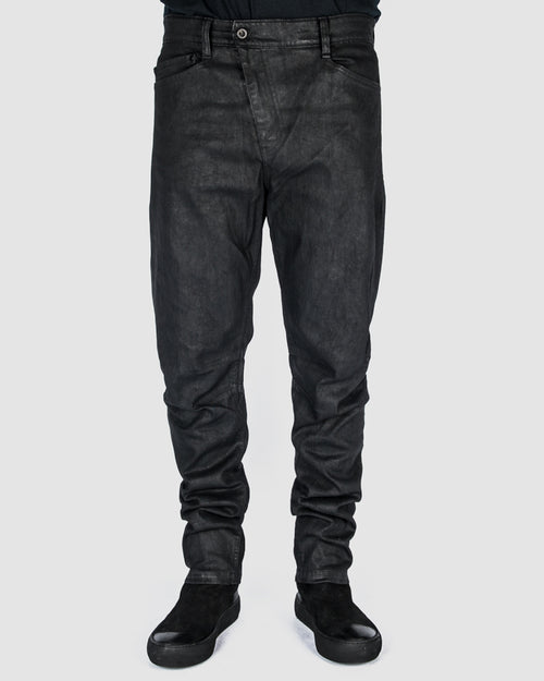 Waxed bloom jeans