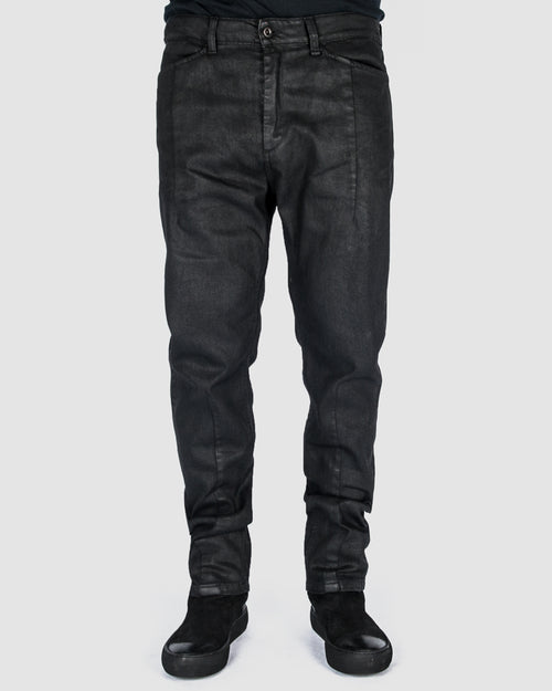 Leon Louis - Waxed dart cut jeans - Stilett.com