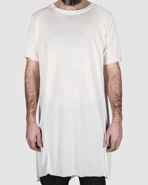 Leon Louis - Wide tencel tee white - Stilett