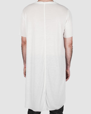 Leon Louis - Wide tencel tee white - https://stilett.com/