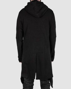 Misomber Nuan - Asymmetric hooded cardigan - https://stilett.com/