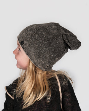 Nostra Santissima Kids - Grey Beanie - https://stilett.com/