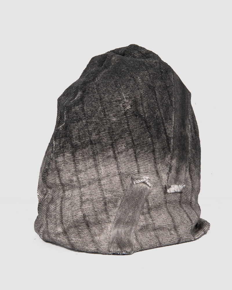 Object - Bandeau dip dyed beanie - https://stilett.com/