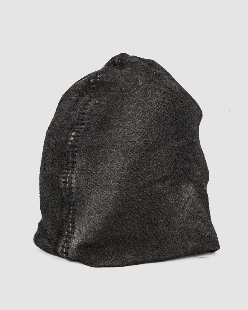 Object - Baste scar stitched beanie - https://stilett.com/