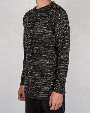 Xagon - Real cut sweater black - https://stilett.com/