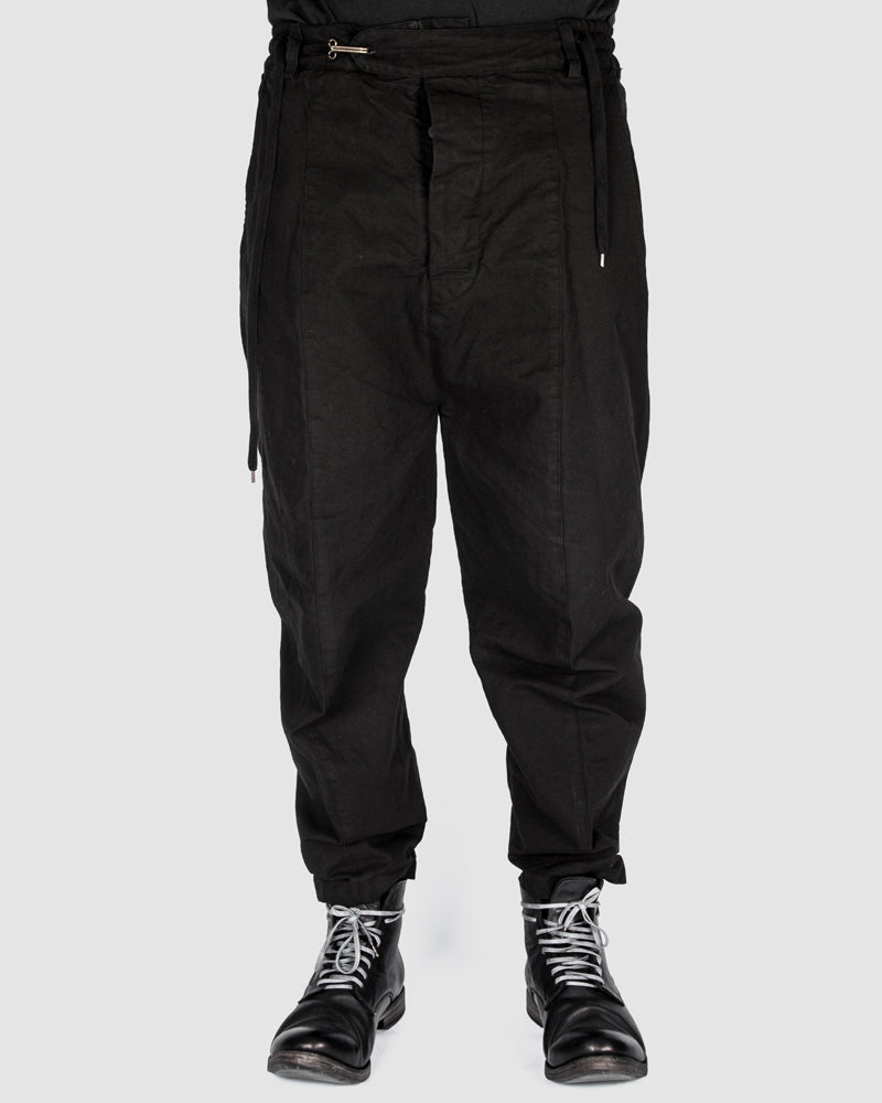 S.S.S.R Venezia - Marc Point - Heavy cotton drawstring pants - Stilett.com