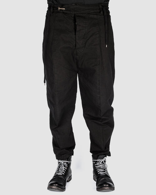 S.S.S.R Venezia - Marc Point - Heavy cotton drawstring pants - Stilett