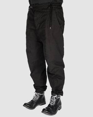 S.S.S.R Venezia - Marc Point - Heavy cotton drawstring pants - https://stilett.com/